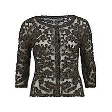 Buy Gina Bacconi Cornelli Mesh Jacket, Black Online at johnlewis.com