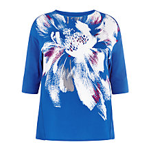 Buy Windsmoor Placement Flower Top, Bright Blue Online at johnlewis.com