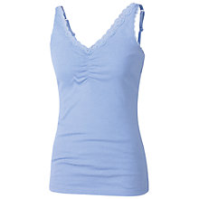 Buy Fat Face Lace Detail Camisole Top, Dragonfly Online at johnlewis.com