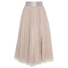 Buy Coast Micha Skirt, Blush Online at johnlewis.com