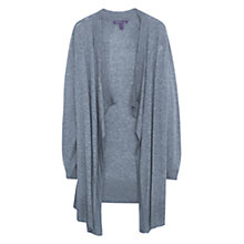 Buy Violeta by Mango Wool Blend Waterfall Cardigan Online at johnlewis.com