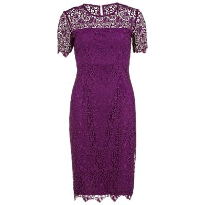 Gina Bacconi Guipure Lace Dress