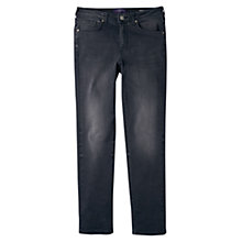 Buy Violeta by Mango Straight Theresa Jeans, Medium Grey Online at johnlewis.com