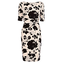 Buy Coast Lexi Print Jersey Dress, Mono Online at johnlewis.com