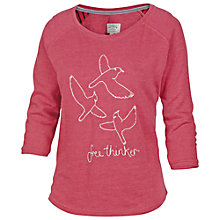 Buy Fat Face Onagh Free Thinking Sweat Top, Navy Online at johnlewis.com