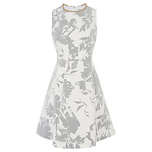 Buy Coast Eleanor Trim Dress. Grey Online at johnlewis.com
