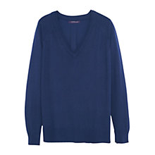 Buy Violeta by Mango Fine-Knit Cotton Jumper Online at johnlewis.com