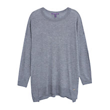 Buy Violeta by Mango Panel Wool Sweater Online at johnlewis.com