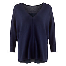 Buy Jigsaw Open Back Sweater Online at johnlewis.com