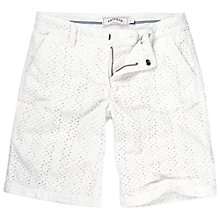 Buy Fat Face Broderie Shorts Online at johnlewis.com