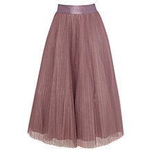 Buy Coast Natalia Skirt, Mink Online at johnlewis.com