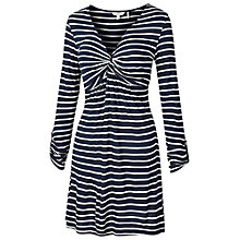 Buy Fat Face Cotswold Stripe Tunic Top, Navy Online at johnlewis.com