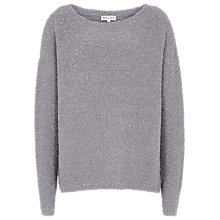 Buy Reiss Bai Textured Jumper, Lilac Ash Online at johnlewis.com