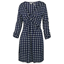 Buy Fat Face Cotswold Jaipur Geo Tunic, Navy Online at johnlewis.com