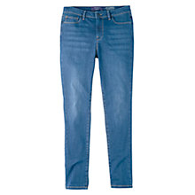 Buy Violeta by Mango Super Slim-Fit Alexandra Jeans, Open Blue Online at johnlewis.com