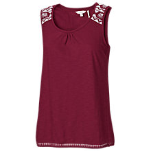 Buy Fat Face Langley Wrap Back Cotton Vest Online at johnlewis.com