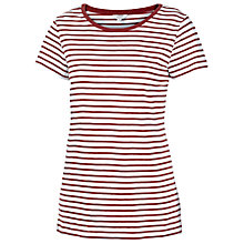 Buy Fat Face Crew Stripe T-Shirt Online at johnlewis.com
