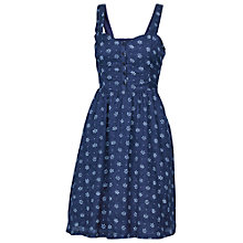 Buy Fat Face Hemsley Amana Print Dress, Navy Online at johnlewis.com