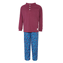Buy John Lewis Boys' Sail Boat Pyjamas, Red/Blue Online at johnlewis.com