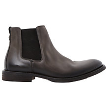 Buy Bertie Caesars Leather Chelsea Boots, Grey Online at johnlewis.com