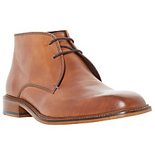 Buy Bertie Condor Contrast Stitch Leather Chukka Boots Online at johnlewis.com