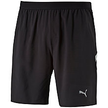 Buy Puma Running Shorts, Black Online at johnlewis.com