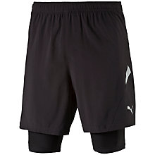 Buy Puma Cross 2-in-1 Shorts, Black Online at johnlewis.com