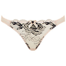 Buy L'Agent by Agent Provocateur Dani Mini Briefs, Nude Online at johnlewis.com