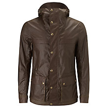 Buy Belstaff Waxed Cotton Canonbury Jacket, Faded Olive Online at johnlewis.com