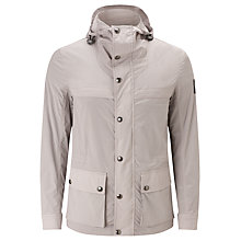 Buy Belstaff Canonbury Waxed Cotton Jacket, Ash Grey Online at johnlewis.com