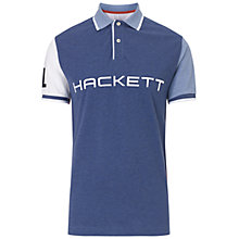 Buy Hackett London Marl Polo Shirt, Multi Online at johnlewis.com