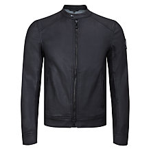 Buy Belstaff Gransdale Blouson Jacket, Black Online at johnlewis.com