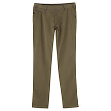 Buy Jigsaw Garment Dye Slim Workwear Trousers Online at johnlewis.com