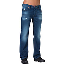 Buy Diesel Larkee 842M Slim Jeans, Mid Wash Online at johnlewis.com