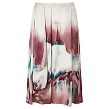 Buy Jigsaw Horizon Print Wrap Skirt, Multi Online at johnlewis.com