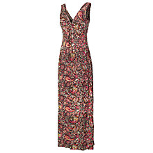 Buy Fat Face Makita Batik Maxi Dress, Phantom Online at johnlewis.com