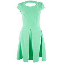 Buy Almari Cap Sleeve Dress, Lime Online at johnlewis.com