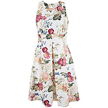 Buy Closet Floral Scuba Dress, Multi Online at johnlewis.com