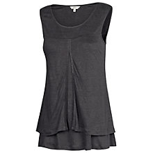 Buy Fat Face Linen Camber Tank Top Online at johnlewis.com