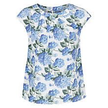 Buy Hobbs Silk Florence Top, Multi Online at johnlewis.com