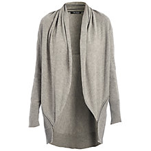 Buy Betty Barclay Oversized Cardigan, Middle Grey/Melange Online at johnlewis.com