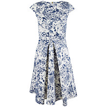Buy Closet Pleat Front Dress, Blue Online at johnlewis.com