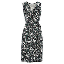 Buy Warehouse Abstract Tribal Print Dress, Multi Online at johnlewis.com