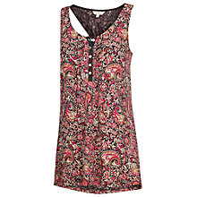 Buy Fat Face Henley Batik Paisley Camisole, Multi Online at johnlewis.com