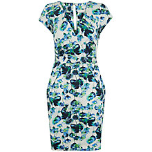Buy Almari Floral Cross Over Dress, Multi Online at johnlewis.com