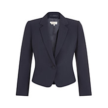 Buy Hobbs Arundel Jacket, Navy Online at johnlewis.com