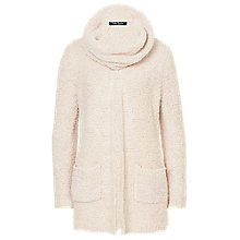 Buy Betty Barclay Fluffy Knit Cardigan, White Sand Online at johnlewis.com