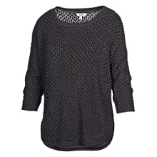Buy Fat Face Tiverton Pointelle Jumper, Phantom Online at johnlewis.com