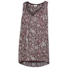 Buy Fat Face Kingston Batik Paisley Tunic, Phantom Online at johnlewis.com
