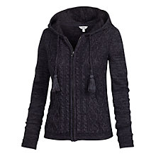 Buy Fat Face Dawlish Zip Hoody, Phantom Online at johnlewis.com